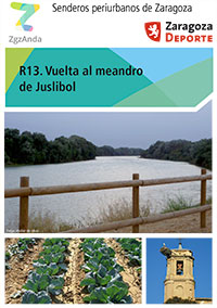 Ruta 13: Vuelta al meandro de Juslibol