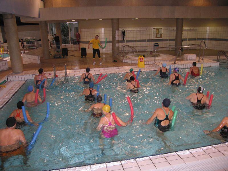 Cursillos Deportivos Municipales: Gimnasia acuática para adultos [2018/2019]