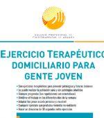 Guía de Ejercicio Terapéutico domiciliario para gente joven