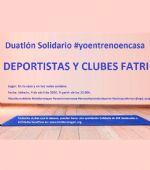 Duatlón Solidario #YoEntrenoEnCasa