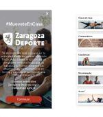 «Mootiv - Entrenador personal», una App para hacer deporte en casa, gratuita para los zaragozanos
