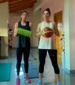 Entrenamiento #MueveteEnCasa con las Hermanas Royo