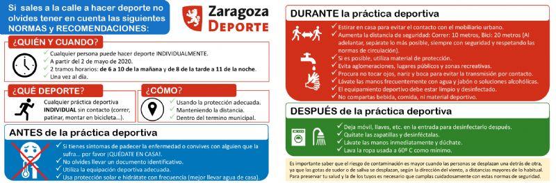NORMAS y RECOMENDACIONES para hacer deporte en la calle