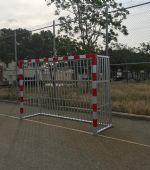 Nuevas porterías antivandálicas en San Gregorio