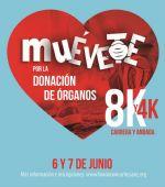 La III Carrera Muévete por la donación de órganos se celebrará el 7 de junio con un formato muy especial