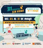 1.500 jóvenes participarán en «31 Minutos Sin Humo», un evento deportivo para concienciar de los riesgos del tabaco