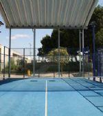 Los centros deportivos municipales reabren las pistas de tenis, pádel y frontón
