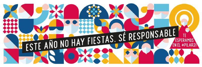 Este año no hay fiestas #SeResponsable #EsteAñoNo