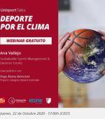 Webinar «Deporte por el Clima»