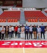 Responsables de grandes pabellones de España se reúnen en Zaragoza para conocer las innovaciones del «Príncipe Felipe»