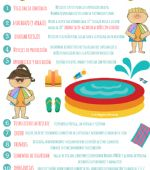 Seguridad infantil en la piscina