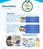 Newsletter #3 del Proyecto «Kids in Action» Junio 2021