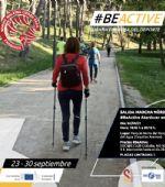 Programación del «Club Nordic Walking Cierzo Trail» para la Semana Europea del Deporte