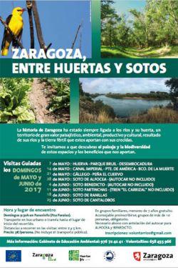 Zaragoza, entre Huertas y Sotos