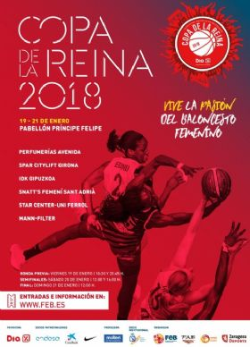Zaragoza, sede de la Copa de la Reina de Baloncesto