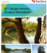 Ruta 17 ZaragozAnda: Margen derecha, Zaragoza-Monzalbarba