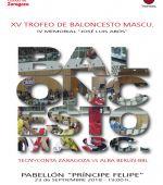 XV Trofeo «Ibercaja-Ciudad de Zaragoza» de Baloncesto Masculino