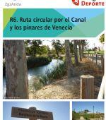 Ruta 6 ZaragozAnda: Ruta por el Canal y los Pinares de Venecia