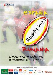 Partido Internacional Rugby U-20: España - Rumanía