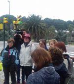 Andada organizada dentro del programa ZaragozAnda