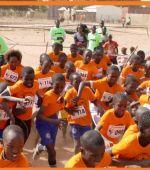 100pies Eventos organiza la Carrera de niños en África por 4º año consecutivo