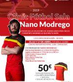 Clínic de Futbol Sala Nano Modrego
