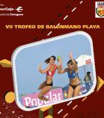 Continúa el Trofeo «Ibercaja-Ciudad de Zaragoza» de Balonmano Playa