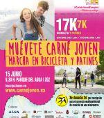 **SUSPENDIDA** Marcha en bicicleta y patines «Muévete Carné Joven»