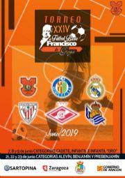 XXIV Torneo de Fútbol Base «Francisco de Goya»