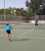 Cursos intensivos de tenis julio 2019
