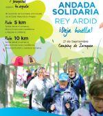 Inscripciones para la VI Andada Solidaria Rey Ardid «Deja Huella»