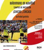 Campus gratuito de iniciación al Balonmano para chicos y chicas en Navidad