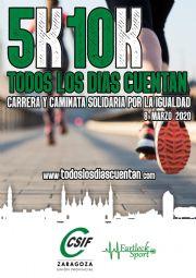 Carrera y Caminata Solidaria 5K por la Igualdad «Todos los días cuentan»