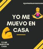 #YOMEMUEVOENCASA