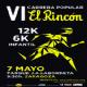 Apúntate a la VI Carrera Popular «El Rincón» a partir del jueves
