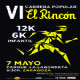 Carrera Popular «El Rincón», para toda la familia