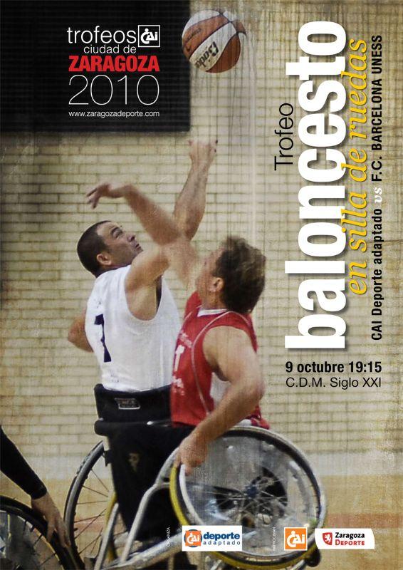 Trofeo 'CAI - Ciudad de Zaragoza' de Baloncesto en Silla de Ruedas
