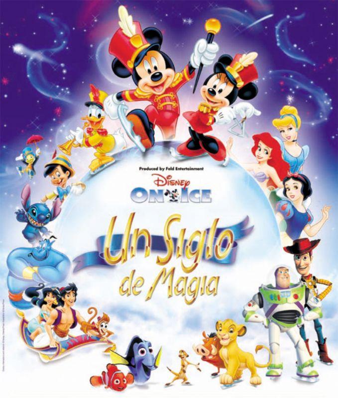 Disney on Ice: Un siglo de Magia. Del 10 al 13 de marzo