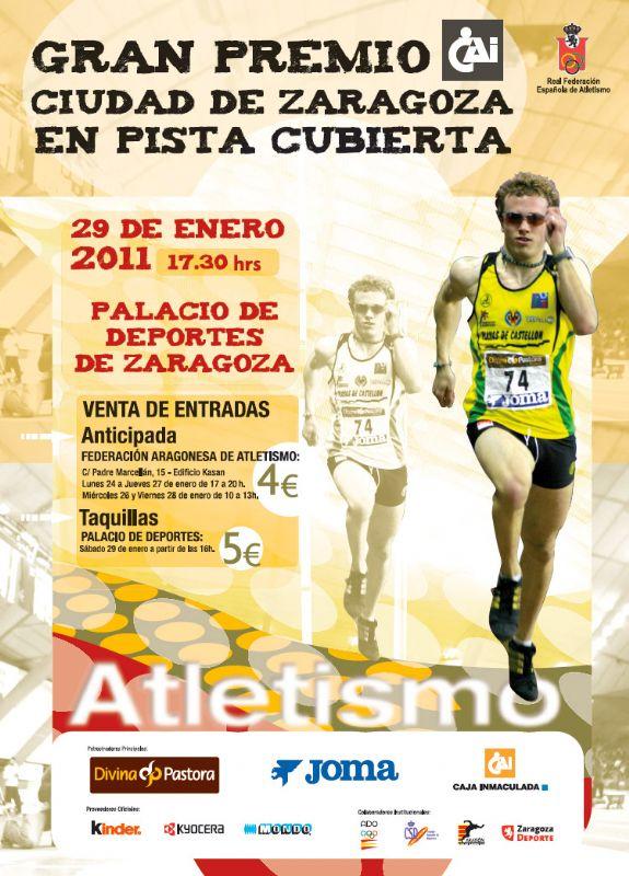Gran Premio 'CAI - Ciudad de Zaragoza' de Atletismo en Pista Cubierta