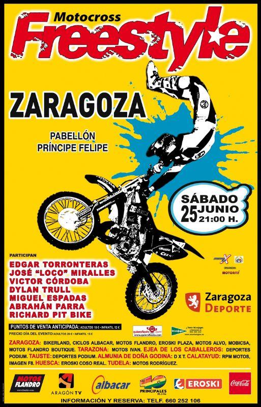 Motocross Freestyle Internacional Zaragoza 2011