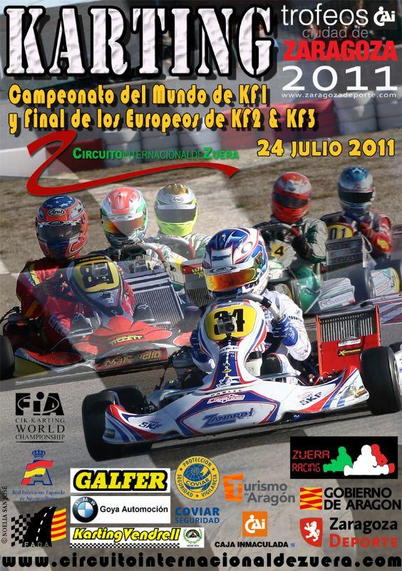 Campeonato del Mundo y de Europa de Karting «Trofeo CAI-CIudad de Zaragoza»
