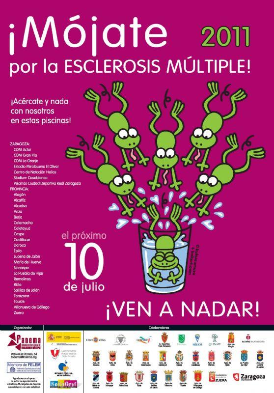 Mójate por la Esclerosis Múltiple