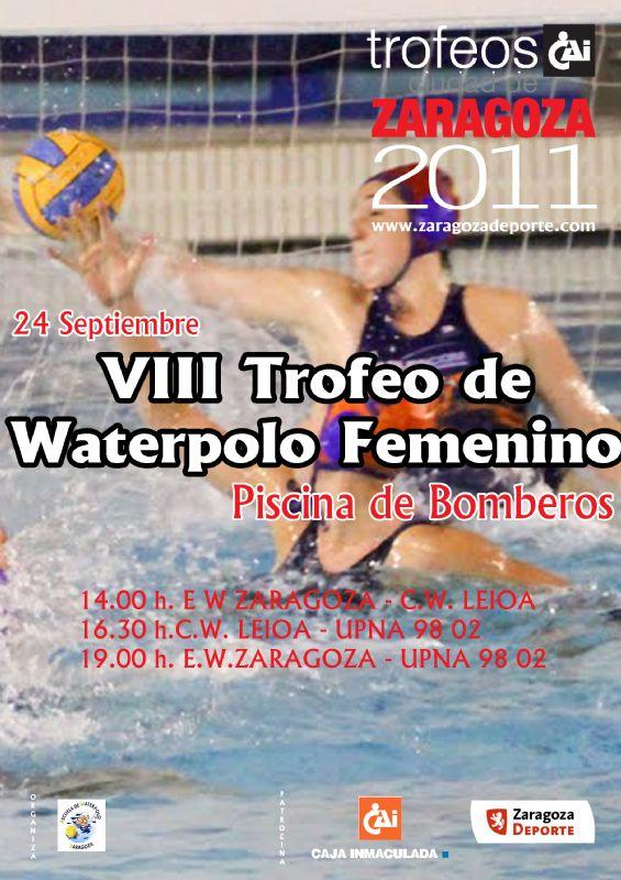 VII Trofeo «CAI-Ciudad de Zaragoza» de Waterpolo Femenino