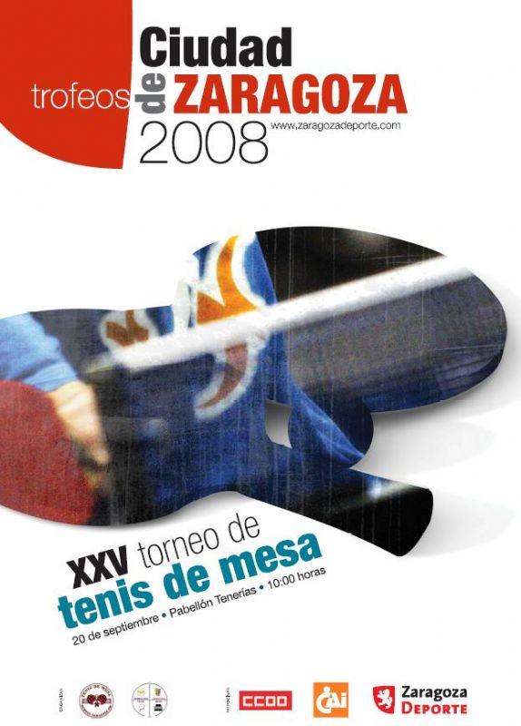 XXV torneo Tenis de Mesa «Ciudad de Zaragoza»