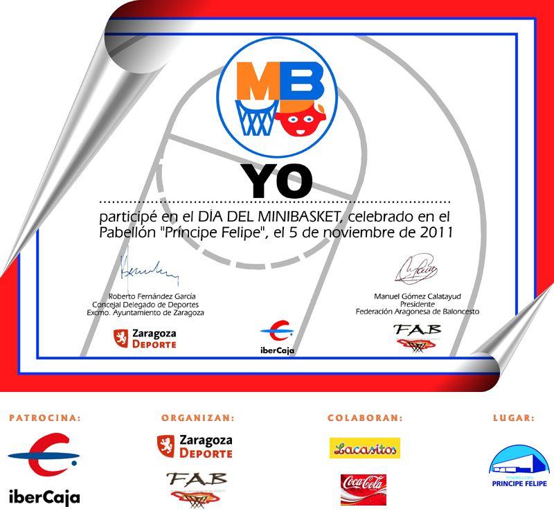 XIV «Día del MiniBasket» 2011