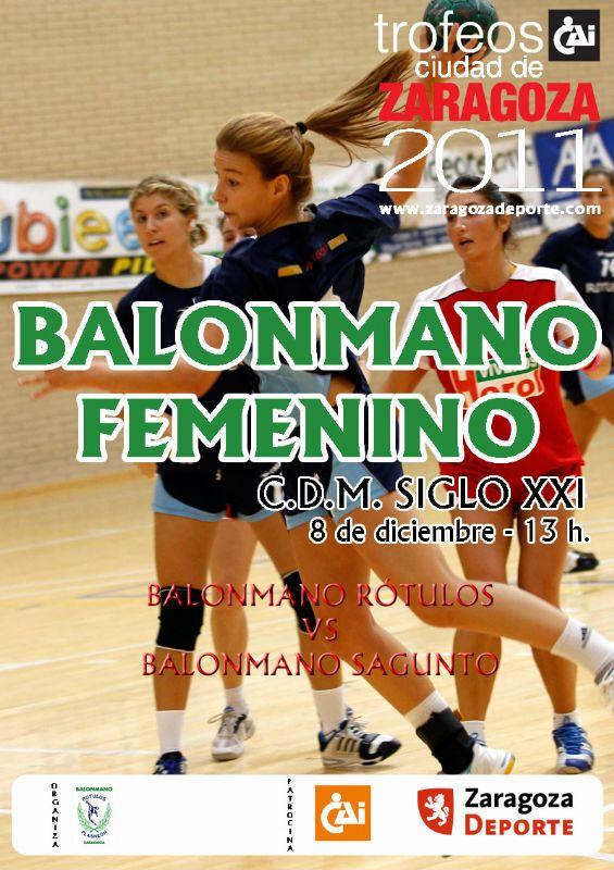 Trofeo «CAI-Ciudad de Zaragoza» de Balonmano Femenino