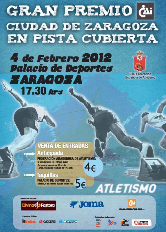 Gran Premio «CAI - Ciudad de Zaragoza» de Atletismo en Pista Cubierta