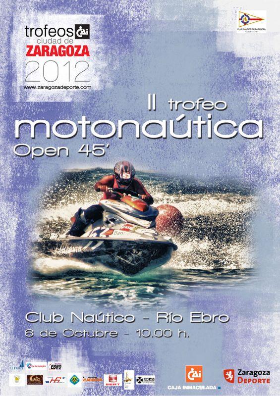 II Trofeo «CAI-Ciudad de Zaragoza» de Motonáutica