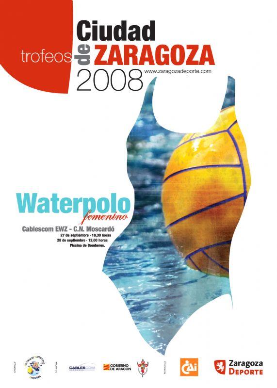 Cablescom EWZ Vs C.N. Moscardó         Trofeo «Ciudad de Zaragoza» Waterpolo Femenino