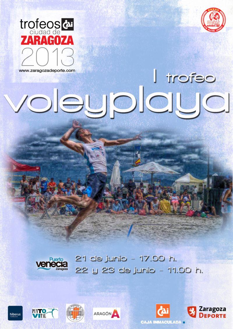 I Trofeo «CAI - Ciudad de Zaragoza» de Voley Playa